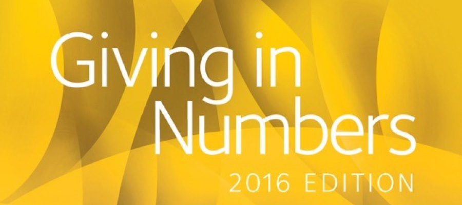Favorite Giving in Numbers Findings