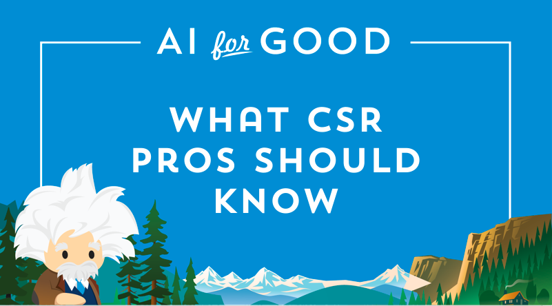 What CSR Professionals Should Know about Artificial Intelligence