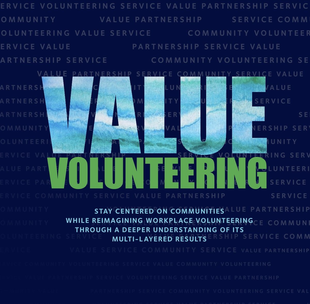 New Research in March: Value Volunteering is Out Today